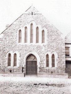 Babell C  M Chapel circa 1892 (Glen Johnson Collection)