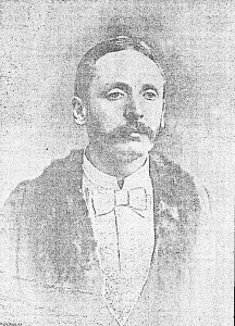 David Davies, Mayor of Cardigan, 1890 (Cardigan & Tivy-Side Advertiser)