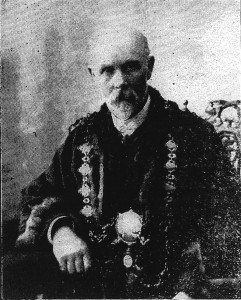 Evan Ceredig Evans, Mayor of Cardigan, 1910 (Cardigan & Tivy-Side Advertiser)
