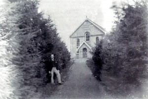 Blaenwaun Baptist Chapel, 1890's (Glen Johnson Collection)