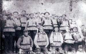 St. Dogmaels lifeboat crew, ca. 1905 (Glen Johnson Collection)