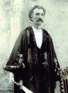 David Ivor Evans, Mayor of Cardigan, 1900 (Glen Johnson Collection)