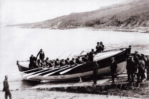 Cardigan Lifeboat circa 1920 (Glen Johnson Collection)