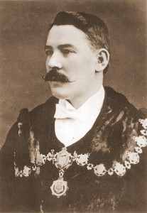 Arthur Clougher, Mayor of Cardigan, 1902 (Glen Johnson Collection)