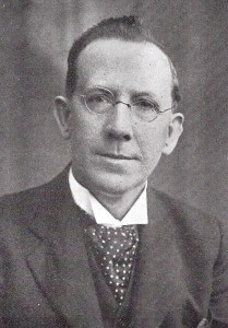 Rev. John Thomas, Minister of Blaenwaun 1926-57 (Glen Johnson Collection)