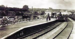 Cardigan Station circa 1910 (Glen Johnson Collection)