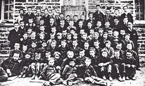 St. Dogmaels Boys' School, 1880 (Glen Johnson Collection)