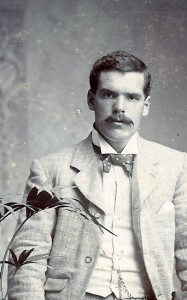 C E D Morgan-Richardson, circa 1890 (Glen Johnson Collection)