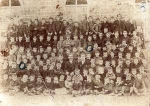 St. Dogmaels Boys' School, 1890's (Glen Johnson Collection)