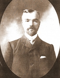 Edward Mathias, Mayor of Cardigan, 1903 (Glen Johnson Collection)