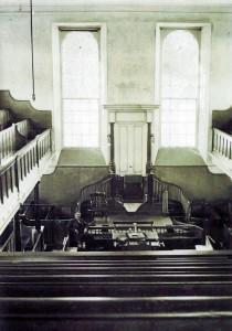 Inside Bethsaida, 1920's (Glen Johnson Collection)