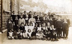 St. Dogmaels Board School group circa 1905 (Glen Johnson Collection)