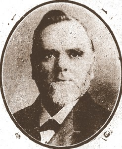 Samuel Young, Mayor of Cardigan, 1908 (Cardigan & Tivy-Side Advertiser)