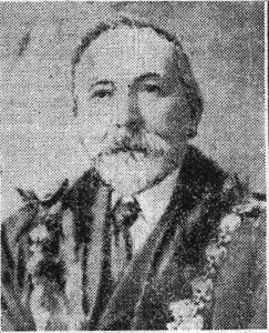 John Davies, Mayor of Cardigan 1909 (Cardigan & Tivy-Side Advertiser)