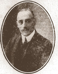 Captain R W Picton Evans circa 1912 (Cardigan & Tivy-Side Advertiser)