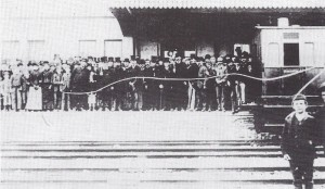 Opening of the Station, September 1886 (Glen Johnson Collection)