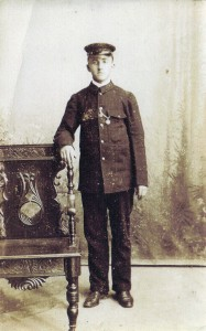 Unidentified member of the station staff, early 20th century (Glen Johnson Collection)