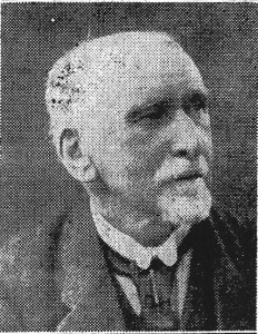 David Davies, Mayor of Cardigan, 1923 (Cardigan & Tivy-Side Advertiser)