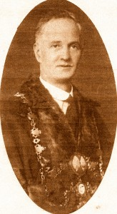John Evans Jones, Mayor of Cardigan, 1925 (Glen Johnson Collection)