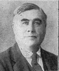 Captain James Davies, Mayor of Cardigan, 1927 (Cardigan & Tivy-Side Advertiser)