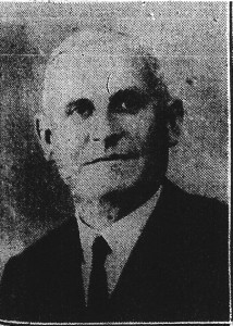 William Charles Davies in 1928 (Cardigan & Tivy-Side Advertiser)