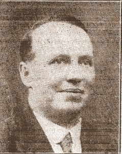 Hugh Ladd, Mayor of Cardigan, circa 1930 (Cardigan & Tivy-Side Advertiser)