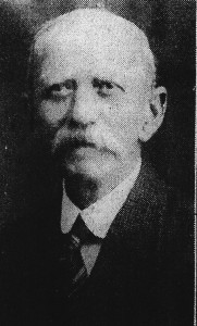 David Jenkins, Mayor of Cardigan, 1934 (Cardigan & Tivy-Side Advertiser)