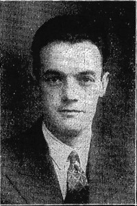 Jack Jenkins, Mayor of Cardigan, 1939 (Cardigan & Tivy-Side Advertiser)
