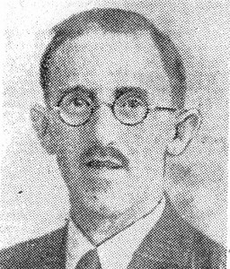 Rowland Ll. Peregrine, circa 1946 (Cardigan & Tivy-Side Advertiser)
