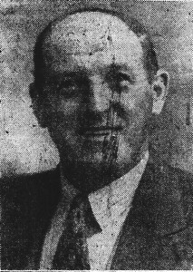 Aneurin James, Mayor of Cardigan, ca. 1949 (Cardigan & Tivy-Side Advertiser)