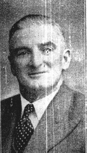 Griffith John James, Mayor of Cardigan, 1954 (Cardigan & Tivy-Side Advertiser)
