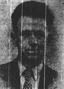 L. Cliff Roberts, Mayor of Cardigan, 1959 (Cardigan & Tivy-Side Advertiser)