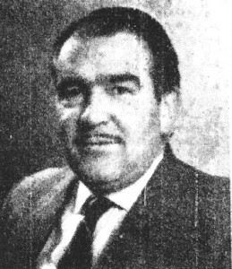 Albert Hallam, Mayor of Cardigan, 1960 (Cardigan & Tivy-Side Advertiser)