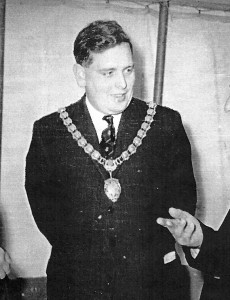 William Jones, Mayor of Cardigan, 1964 (Glen Johnson Collection)