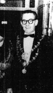 W. A. Jenkins, Mayor of Cardigan, 1966 (Cardigan & Tivy-Side Advertiser)