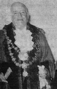Britt Griffiths, Mayor of Cardigan, 1966 (Cardigan & Tivy-Side Advertiser)