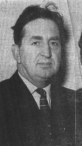 Percy Griffiths, Mayor of Cardigan 1968 (Cardigan & Tivy-Side Advertiser)