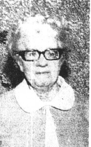 Miss Sara R Owen, Mayor of Cardigan 1971 (Cardigan & Tivy-Side Advertiser)