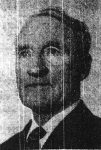 J G Watts, Mayor of Cardigan, 1972 (Cardigan & Tivy-Side Advertiser)
