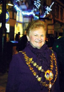 Mair Morris, Mayor of Cardigan, 2010 (Tivy-Side Advertiser)