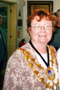Linda Grace, Mayor of Cardigan, 2003 (c) Glen K Johnson