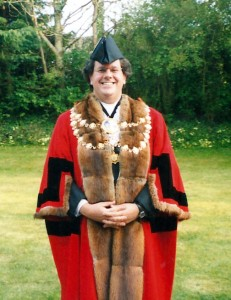 David Lloyd Owen, Mayor of Cardigan, 2003 (c) Glen K Johnson