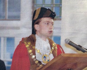 Mark Cole, Mayor of Cardigan, 2009 (Tivy-Side Advertiser)