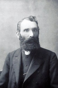Rev. Morris, Minister of Capel Seion (Glen Johnson Collection)