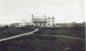 Gwbert Hotel, circa 1905. Photo by Tom Desmond (Glen Johnson Collection)