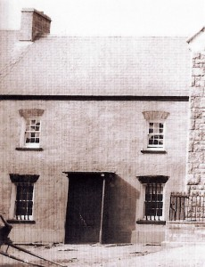 Cilgerran Police Station circa 1900 (Glen Johnson Collection)