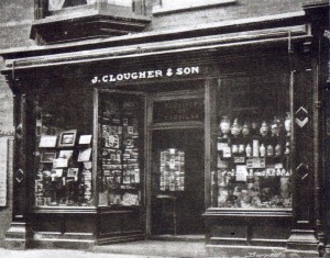 Shop front, No. 18 High Street, 1907 (Glen Johnson Collection)