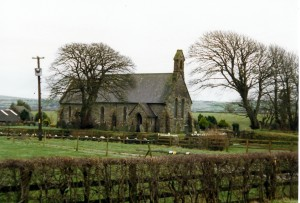 Llantood Church in February 1999 (c) Glen K Johnson