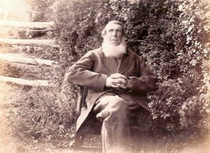Thomas Griffiths of Bryngwyn circa 1890 (Glen Johnson Collection)