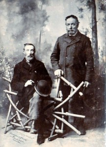 Daniel & John Evans circa 1907 (Glen Johnson Collection)